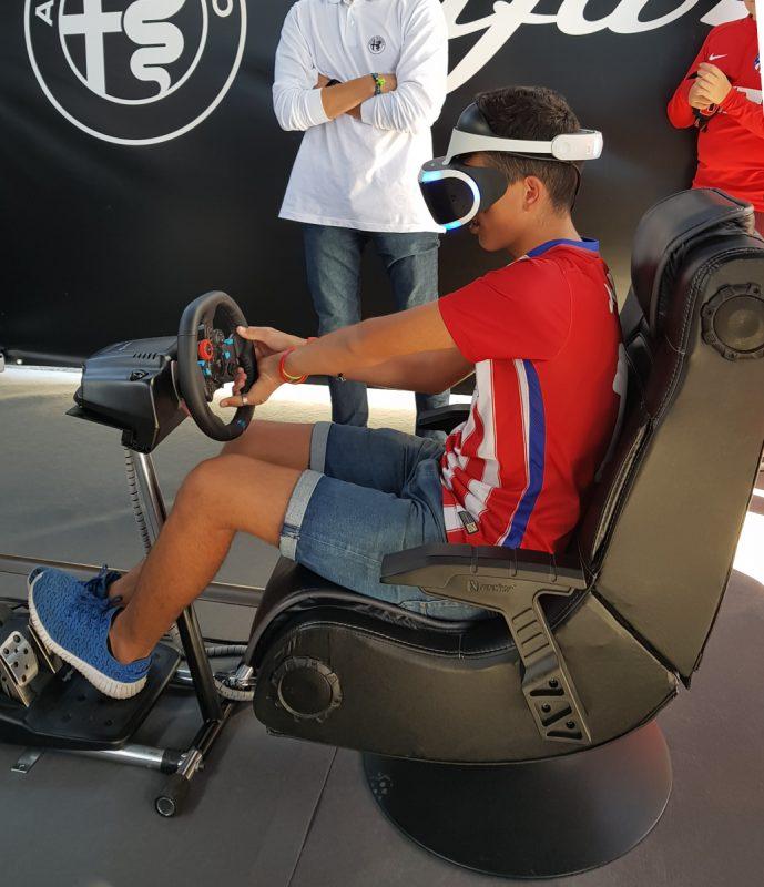 sillón gamer para eventos