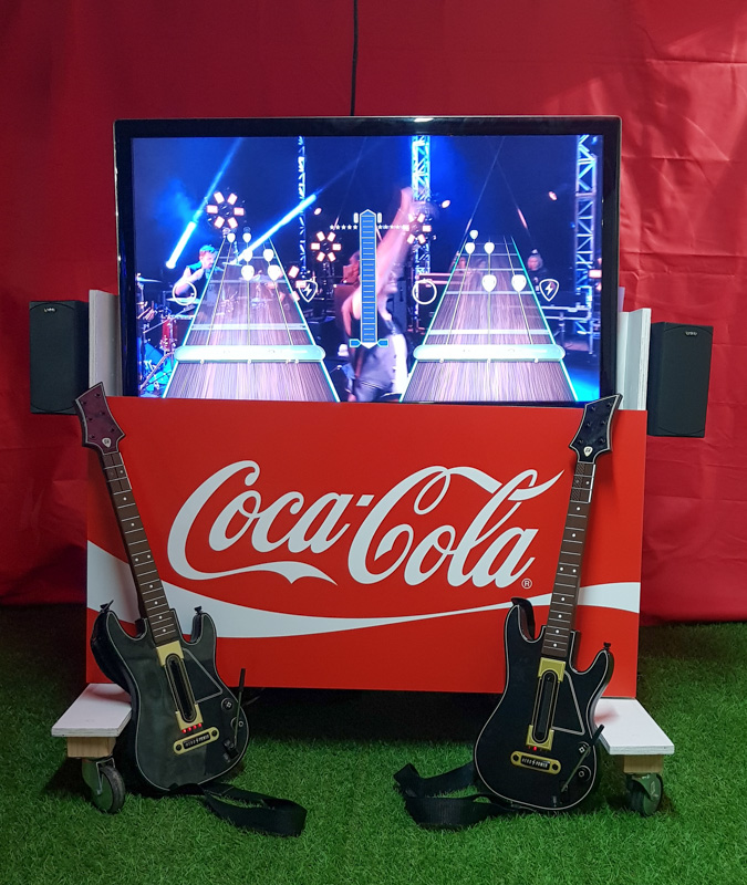 Alquiler de Guitar Hero para eventos