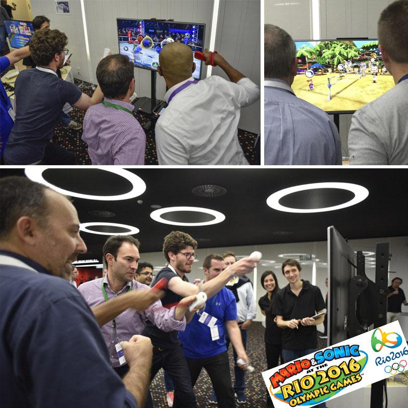 Organización de team buildin con consolas de videojuegos
