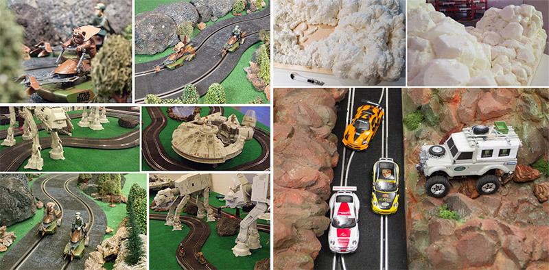 Realización de dioramas y escenarios a medida