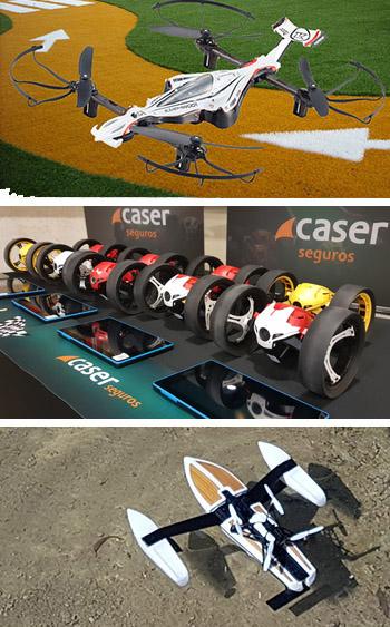 Alquiler de drones para eventos empresa